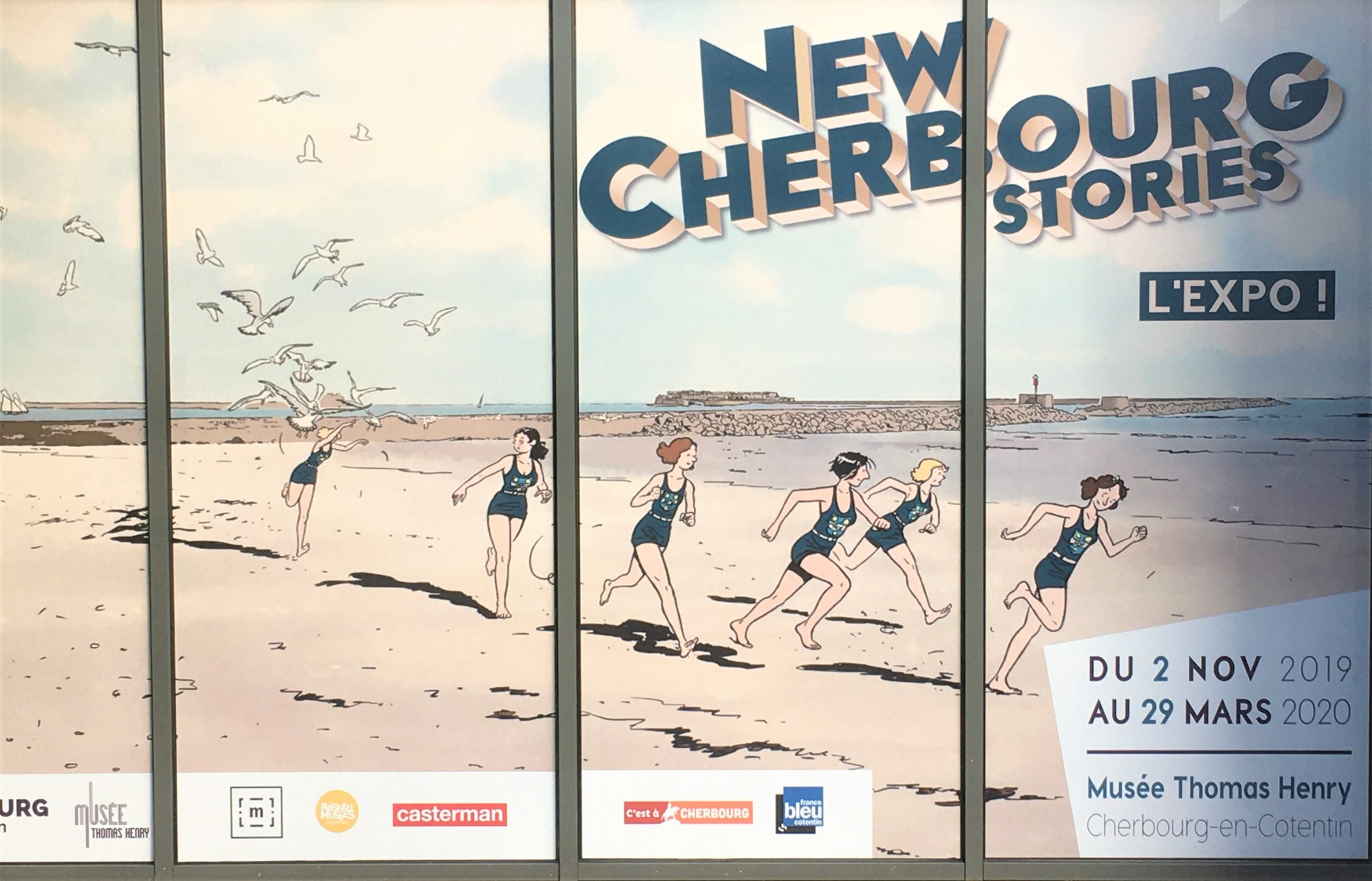Affiche expo Cherbourg