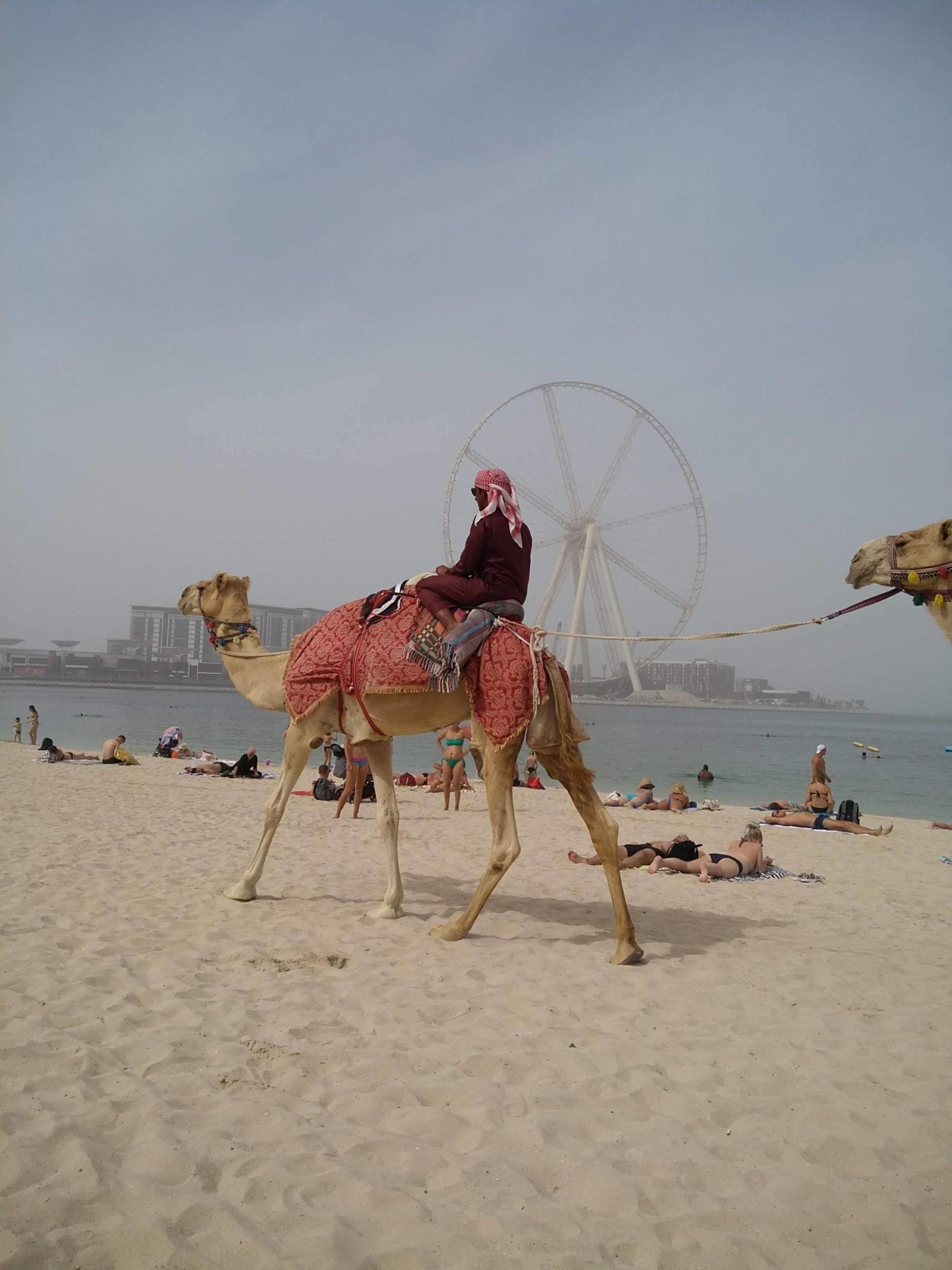 Plage à Dubaî