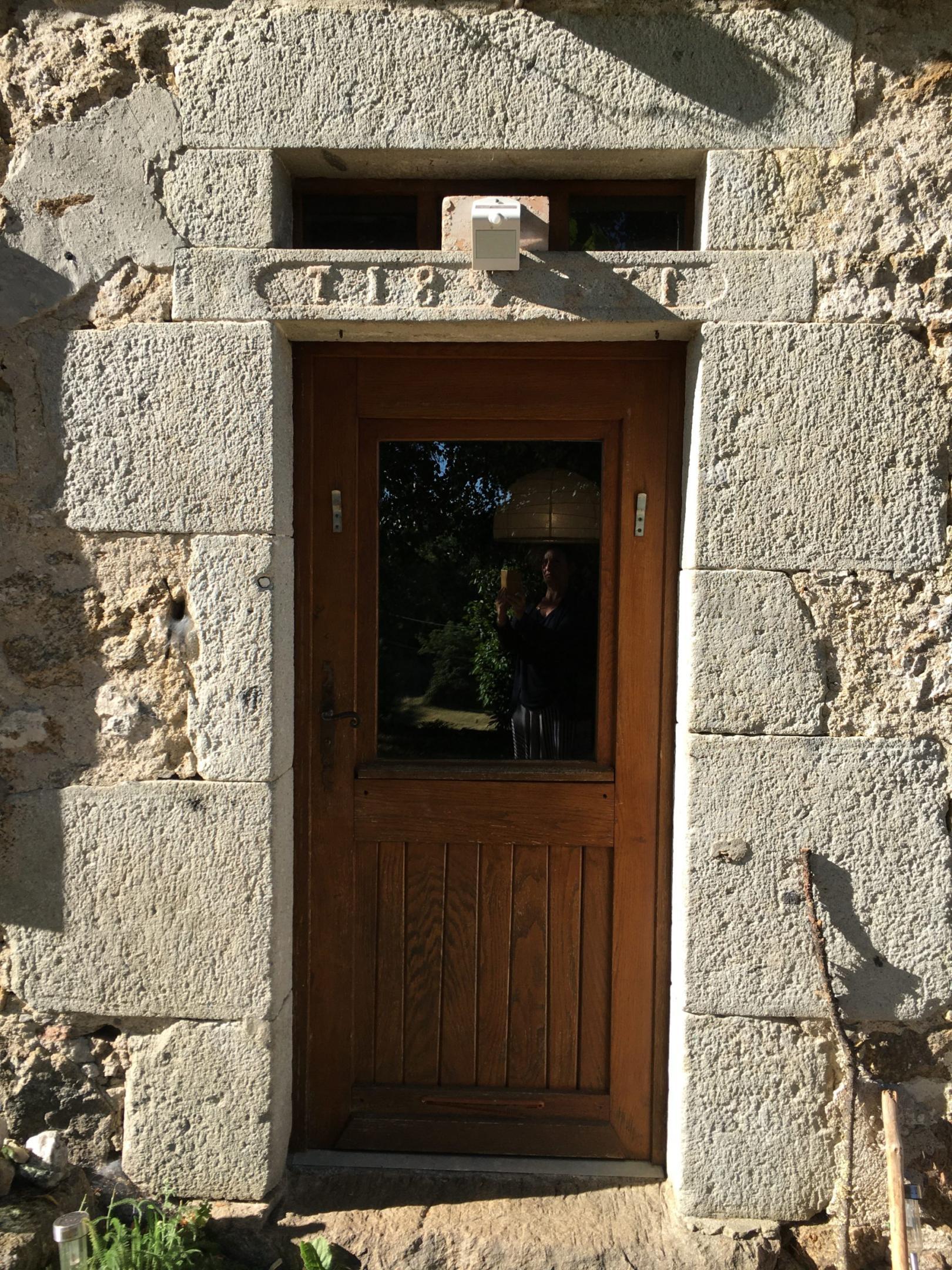 porte de la maison Marjorie et Stéphane