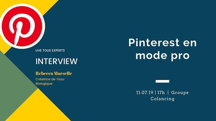 Pinterest pour ton Business