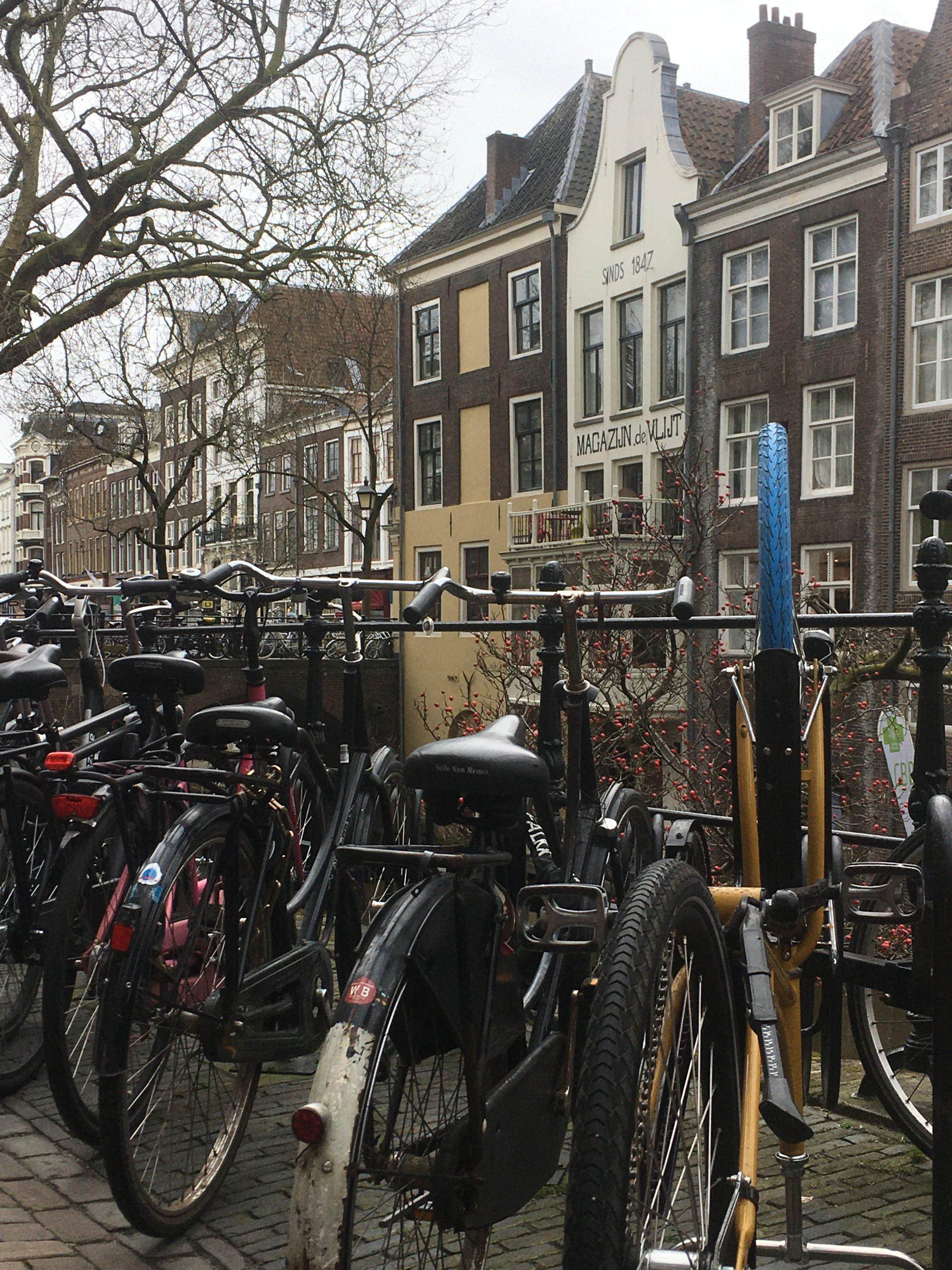 vélos sur le pont